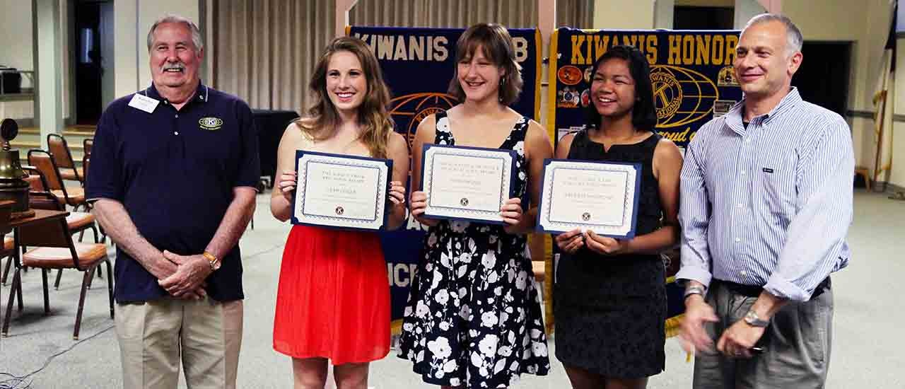 2014 Kiwanis Scholarship Winners