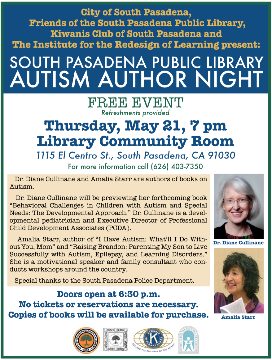 Autism Author Night